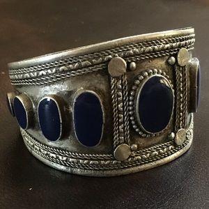 Jewelry - Blue Lapis Cuff